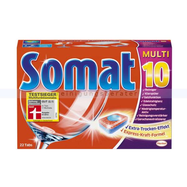 Somat 10 Multi Tabs 22er Spülmaschinentabs