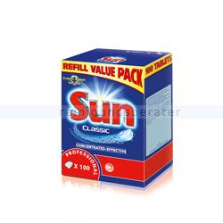 Spülmaschinentabs SUN Professional Classic Tablets 100 Tabs