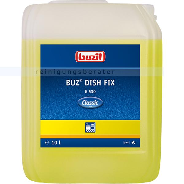 Spülmittel Buzil Buz Dish Fix G530 Spülfix 10 L Hand-Geschirrspülmittel G530-0010R1