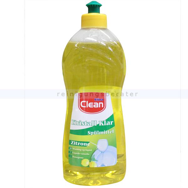Spülmittel Clean Kristall Klar mit Zitronenduft 500 ml