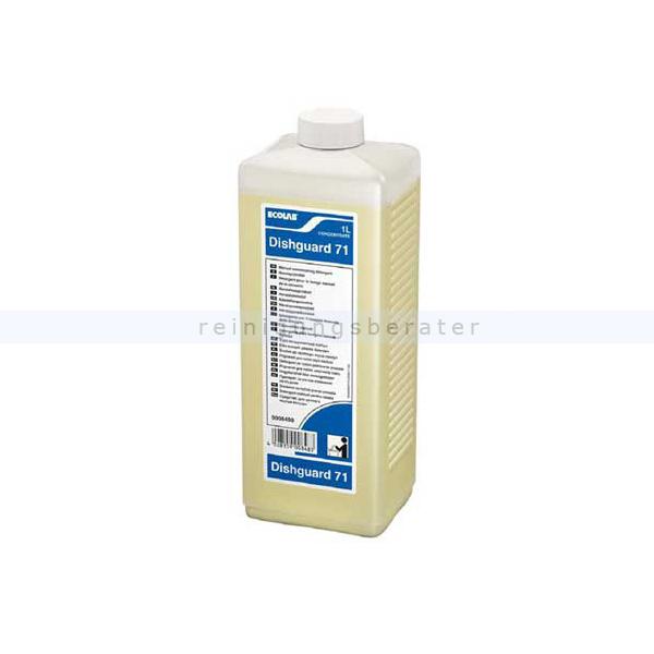 Ecolab Dishguard 71 1 L Spülmittel leistungsstarkes Handspülmittel 9008490