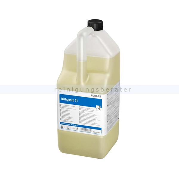 Ecolab Dishguard 71 5 L Spülmittel leistungsstarkes Handspülmittel 9017260