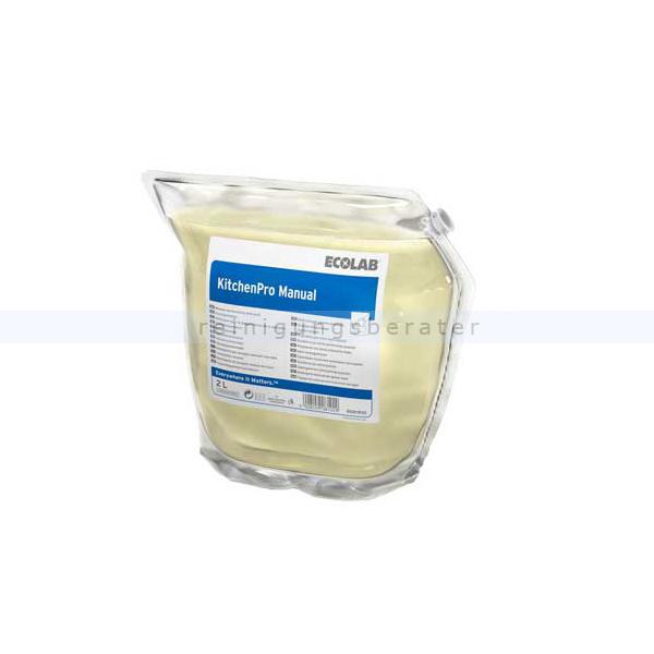 Ecolab Kitchen Pro Manual 2 L Spülmittel manuelles Spülmittel 9081910