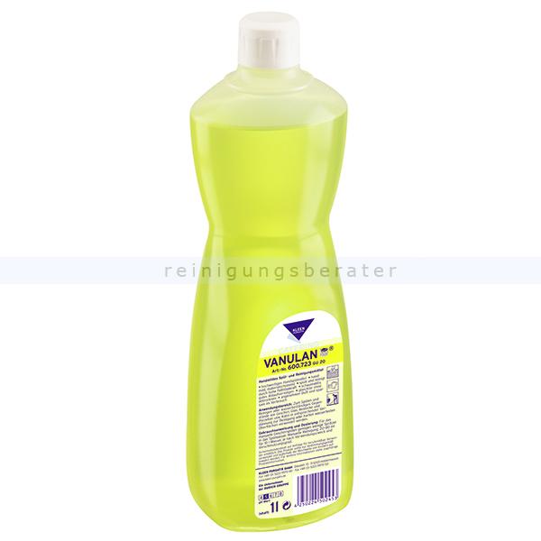 Spülmittel Kleen Purgatis Vanulan 1 L hochwertiges Spülmittel mit besonders hoher Fettlösekraft 90600683