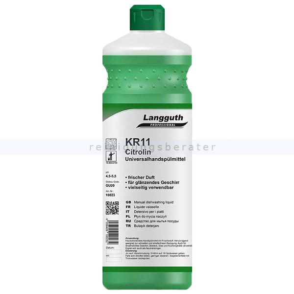 Spülmittel Konzentrat Langguth KR11 Citrolin 1 L