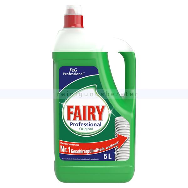 Procter and Gamble Spülmittel Fairy Konzentrat 5 L professionelles Handspülmittel Konzentrat PROFFA2192