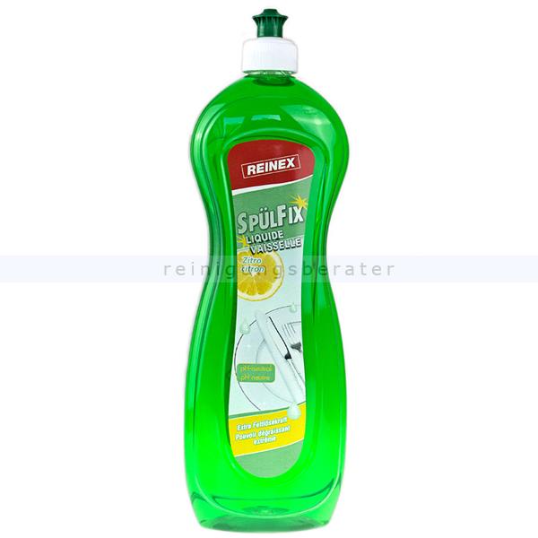 Reinex Spülfix Zitro Geschirrspülmittel 1 L Spülmittel Handspülmittel-Konzentrat mild und pflegend 00073