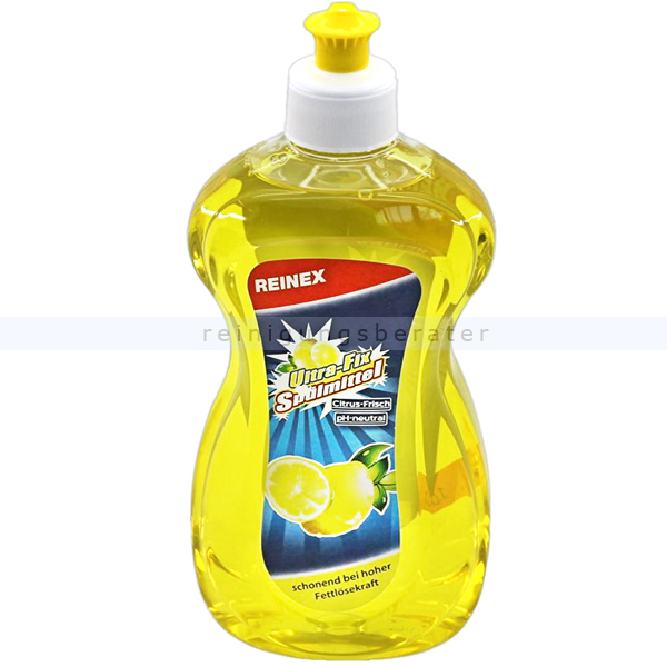Spülmittel Reinex Ultra-Fix Zitronenduft 500 ml