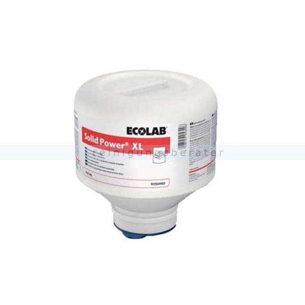 Ecolab Solid Power XL 4,5 kg Spülmschinenreiniger Spülmittel für gewerbliche Spülmaschinen in Blockform 9066570