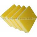 Spülschwamm Color Clean HACCP 4 Stück gelb
