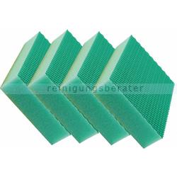 Spülschwamm Color Clean HACCP 4 Stück grün