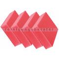 Spülschwamm Color Clean HACCP 4 Stück rot