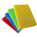 Spülschwamm Color Clean HACCP 4 Stück rot, gelb, grün, blau