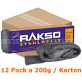 Stahlwolle Rakso Sortenreine Stahlwollebänder 1 mittel Karton