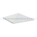 Standascher Ascher-Papierkorb-Spitze (geschlossen) Silber