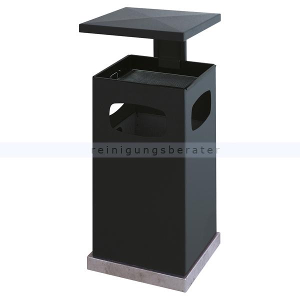 Standascher mit Schutzdach anthrazit 70 L