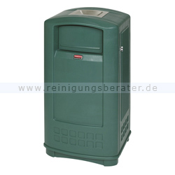 Standascher Rubbermaid Landmark Junior Container Grün