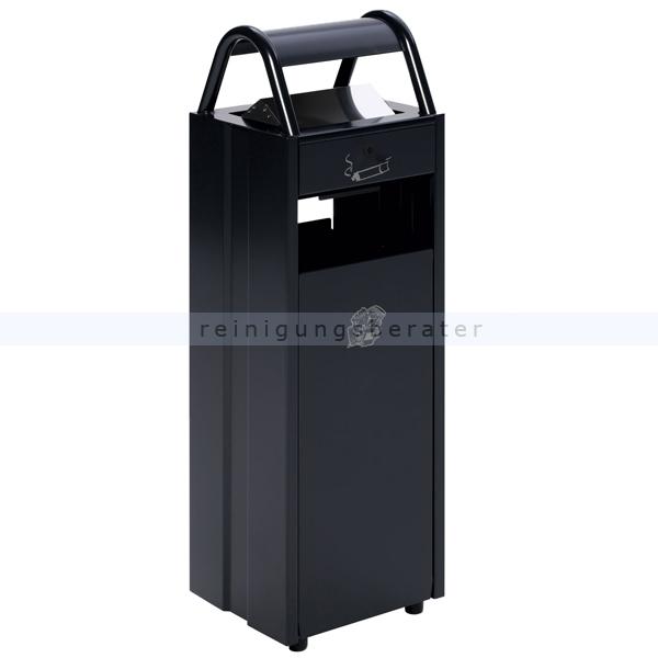 Standascher VAR B 30 Abfallsammler Ascher 35 L anthrazit