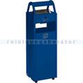 Standascher VAR B 30 Abfallsammler Ascher 35 L enzianblau