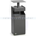 Standascher VAR B 35 Ascher/Abfallsammler eisenglimmer 38 L