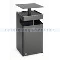 Standascher VAR B 45 Ascher/Abfallsammler eisenglimmer 72 L