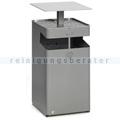 Standascher VAR B 45 Ascher/Abfallsammler silber 72 L