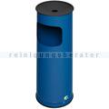 Standascher VAR H 61 K Abfallsammler rund 17 L enzianblau