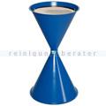 Standascher VAR Kegelascher mit Einlegeteil enzianblau