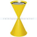 Standascher VAR Kegelascher mit Einlegeteil gelb