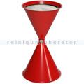 Standascher VAR Kegelascher mit Einlegeteil rot
