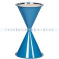 Standascher VAR Kunststoff Kegelascher ohne Dach blau