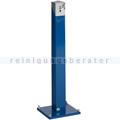 Standascher VAR Standsäule eckig SG 105 E enzianblau