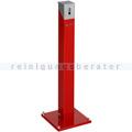 Standascher VAR Standsäule eckig SG 105 E rot