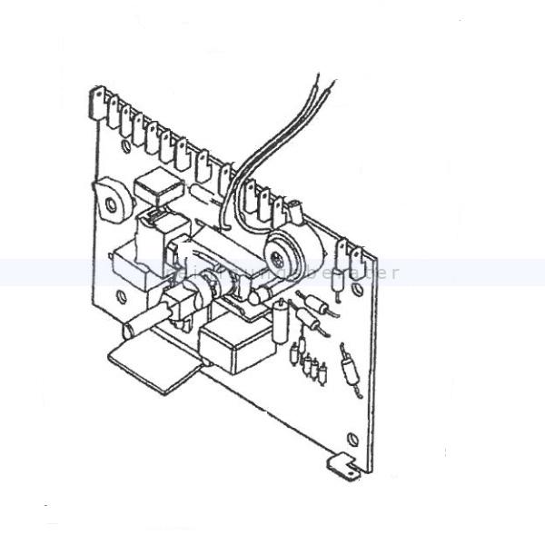 Starmix SET Elektronikplatine für ISP-ARD Ersatzteil für Starmix Staubsauger 432366