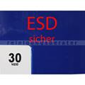 Staubbindematten ESD 90x60 cm blau