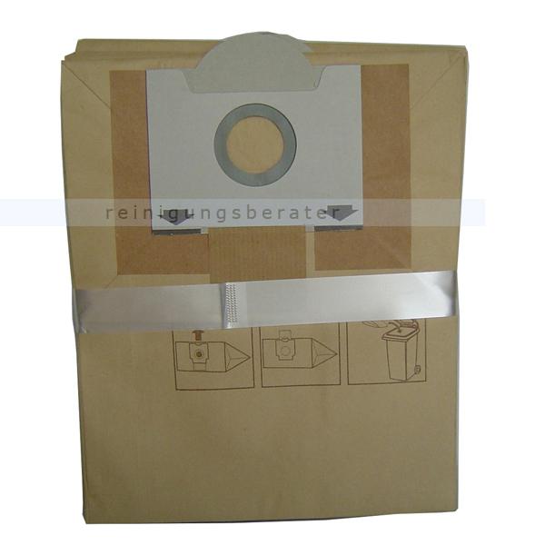 Kränzle 454400 Staubsaugerbeutel Ventos 20 E-L original Kränzle Staubbeutel, 5 Stück