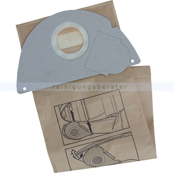 staubsaugerbeutel papierfilterbeutel fa 4 universell. Black Bedroom Furniture Sets. Home Design Ideas