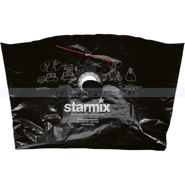 staubsaugerbeutel starmix spezial pe entleerbeutel 50 5 st. Black Bedroom Furniture Sets. Home Design Ideas
