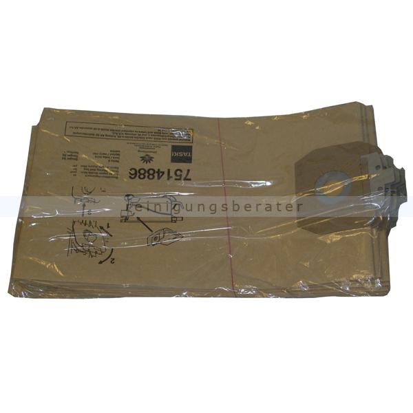 Staubsaugerbeutel Taski vento, Aero aus Papier, 10 Stück