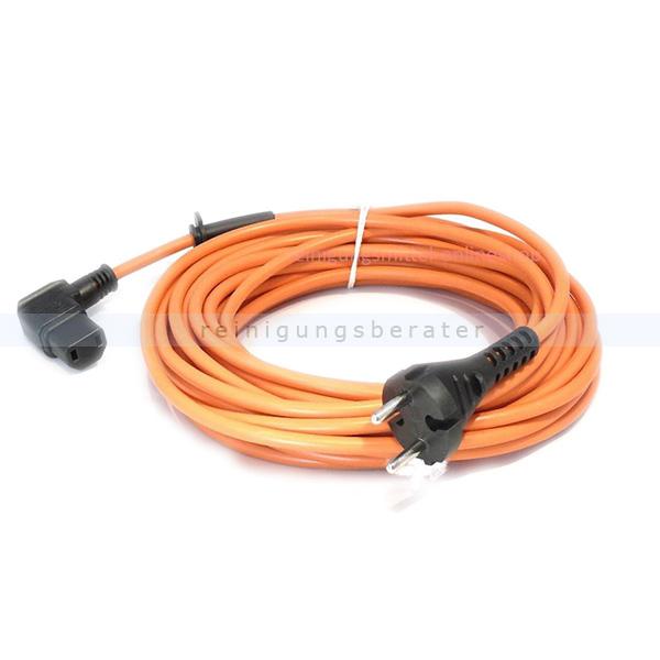 Nilco 2630102 Staubsaugerkabel 12,5 m orange Netzkabel für Nilco S 20 E HEPA, S 20 E
