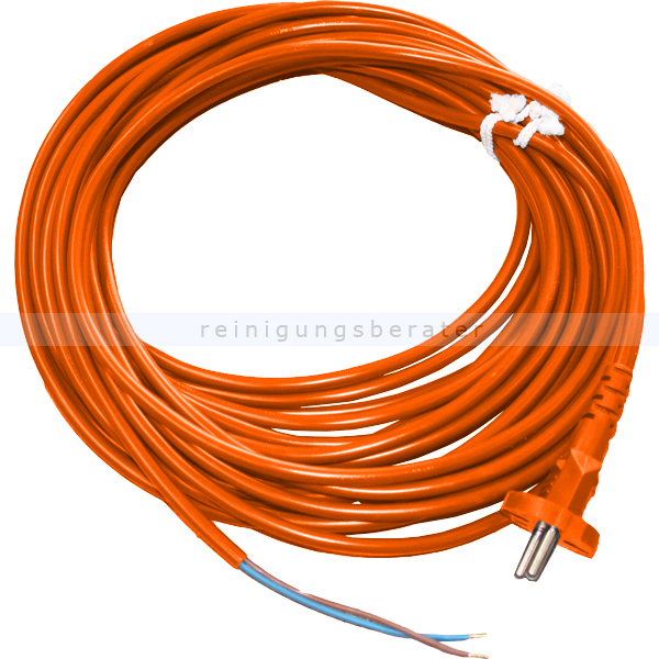 Sebo 5260or Staubsaugerkabel orange für alle Bürstsauger Anschlußleitung für Sebo XP1, XP2, XP3 usw.