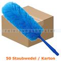 Staubwedel MopKnight Entstauber Microfaser blau Karton