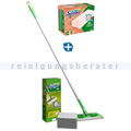 Staubwedel Swiffer System Starter Kit SET Holz & Parkett