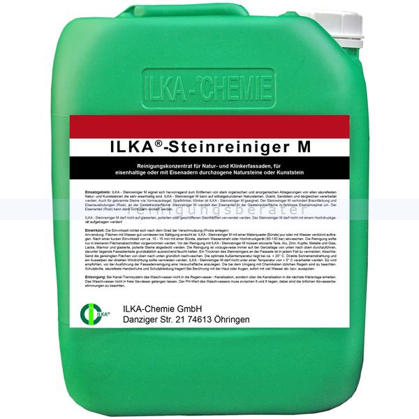ILKA Chemie Stein- und Fassadenreiniger ILKA Steinreiniger M 30 L Natur-, Klinkerfassade, eisenhaltige Natursteine, Kunststein 0115030