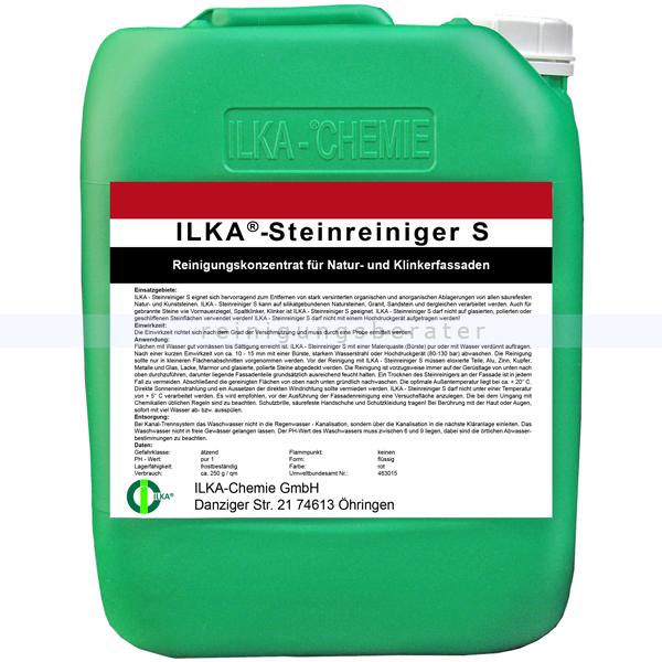Stein- und Fassadenreiniger ILKA Steinreiniger S 30 L