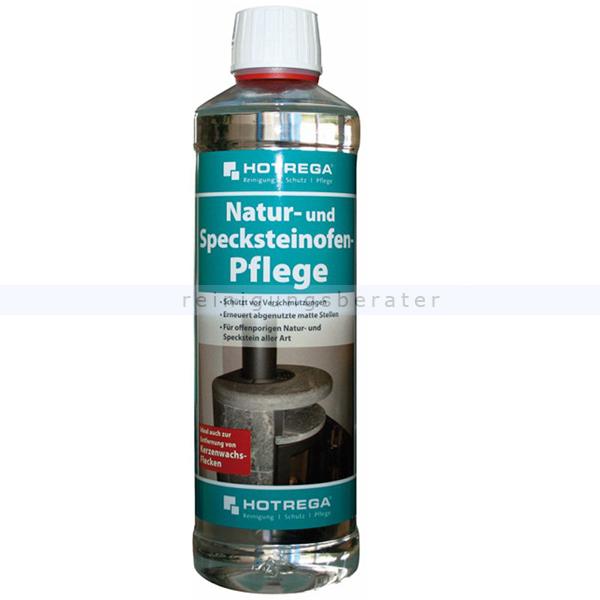Steinimprägnierung Hotrega Natur und Specksteinpflege 500 ml Optische Veredelung und Sanierung beanspruchter Oberflächen H120140
