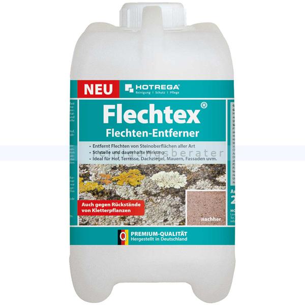 Flechtex Flechten-Entferner Hotrega 2 L entfernt Flechten von Oberflächen aller Art H110140002
