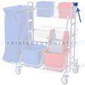 Stielhalter für Reinigungswagen Meiko Chrom Fahrwagen I