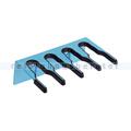 Stielhalter Haug Geräteleiste Kunststoff blau