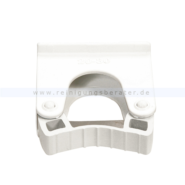 Stielhalter Haug Halterung für Alu Geräteleiste 20-32 mm Ersatzstielhalterung, geeignet nach HACCP & lebensmittelecht 86999